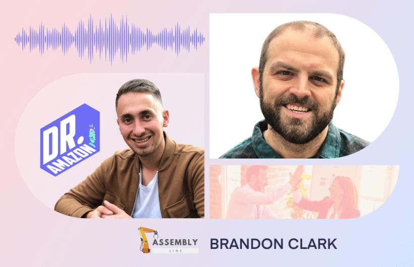 Dr Amazon with Brandon clark