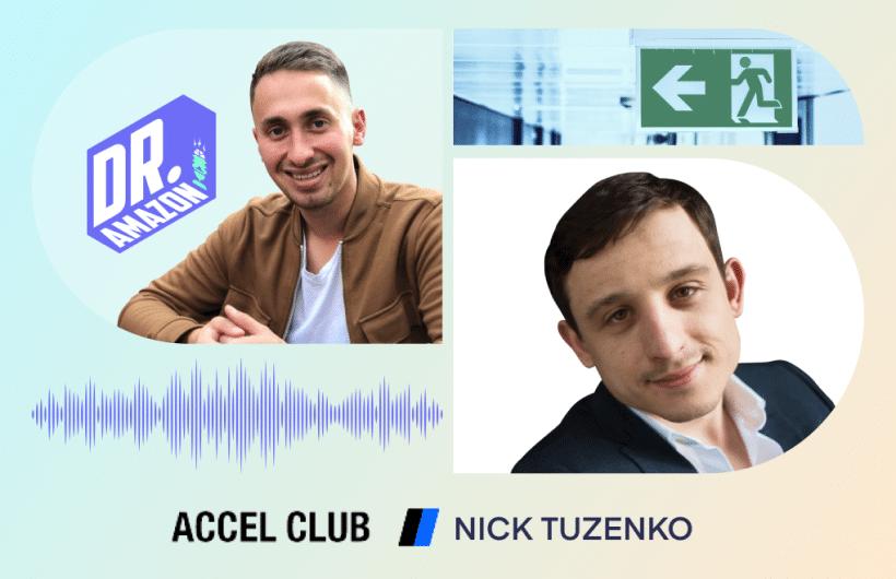 Dr Amazon with Nick Tuzenko
