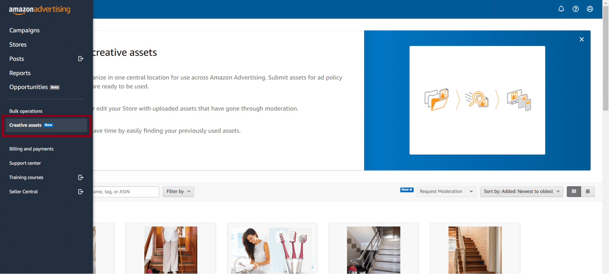 Custom imagery in Sponsored Display for the Amazon Advertising API